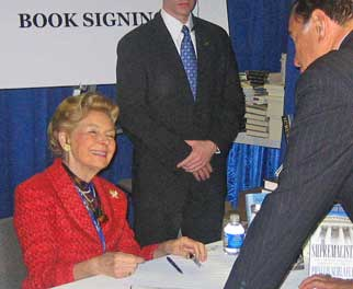 Phyllis on Ann Romney Book Signing Events